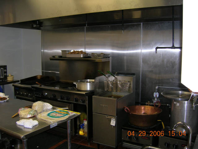 Marvelous Restaurant Kitchen Design Sample