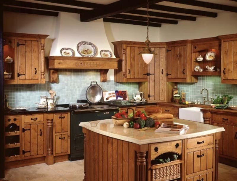 Country decorating ideas beautiful decoration gallery for Country kitchen home plans