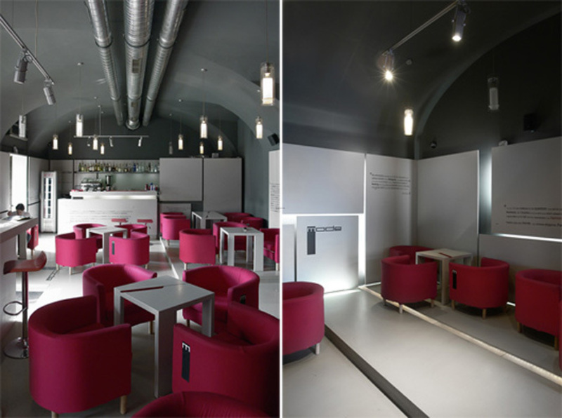 Modern Mode Cafe Interior Decor Design Ideas Pictures By