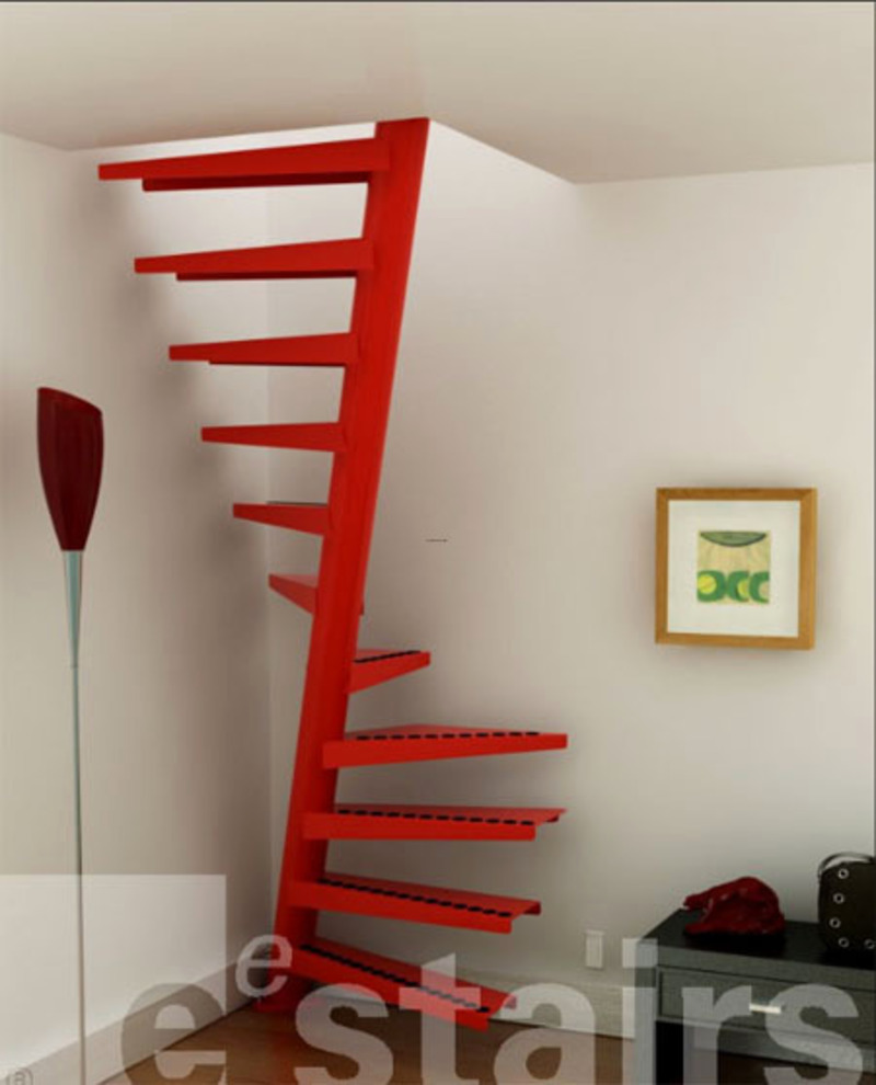 Space saving staircases design bookmark 2381 - Space saving stair design ...