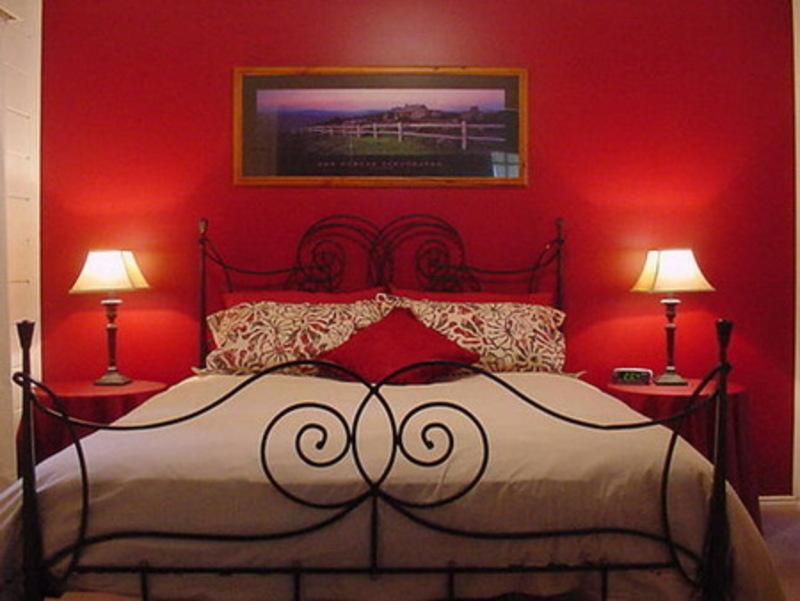 romantic bedroom with a beautiful wall paint colors home design