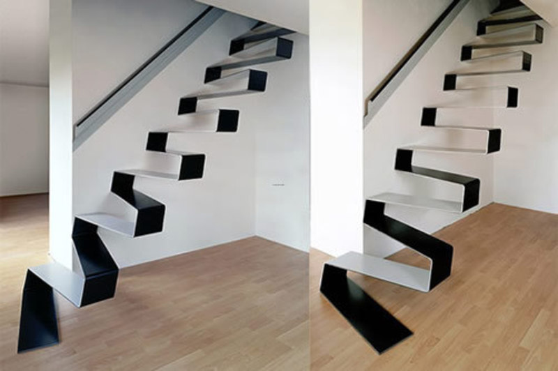 24 incredible stairs and staircase designs design - Space saving stair design ...