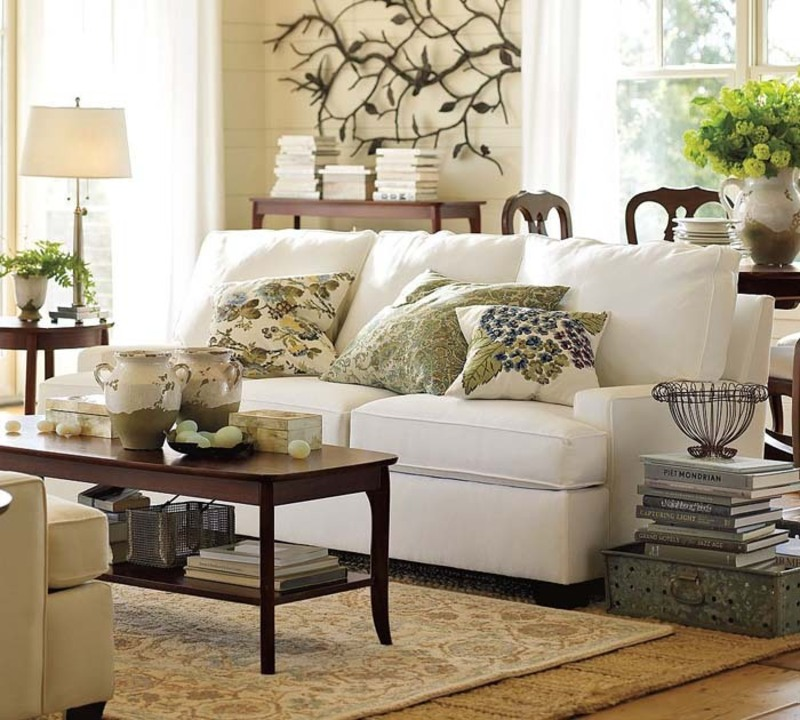 Living Room Sofa Design Ideas From Pottery Barn Design
