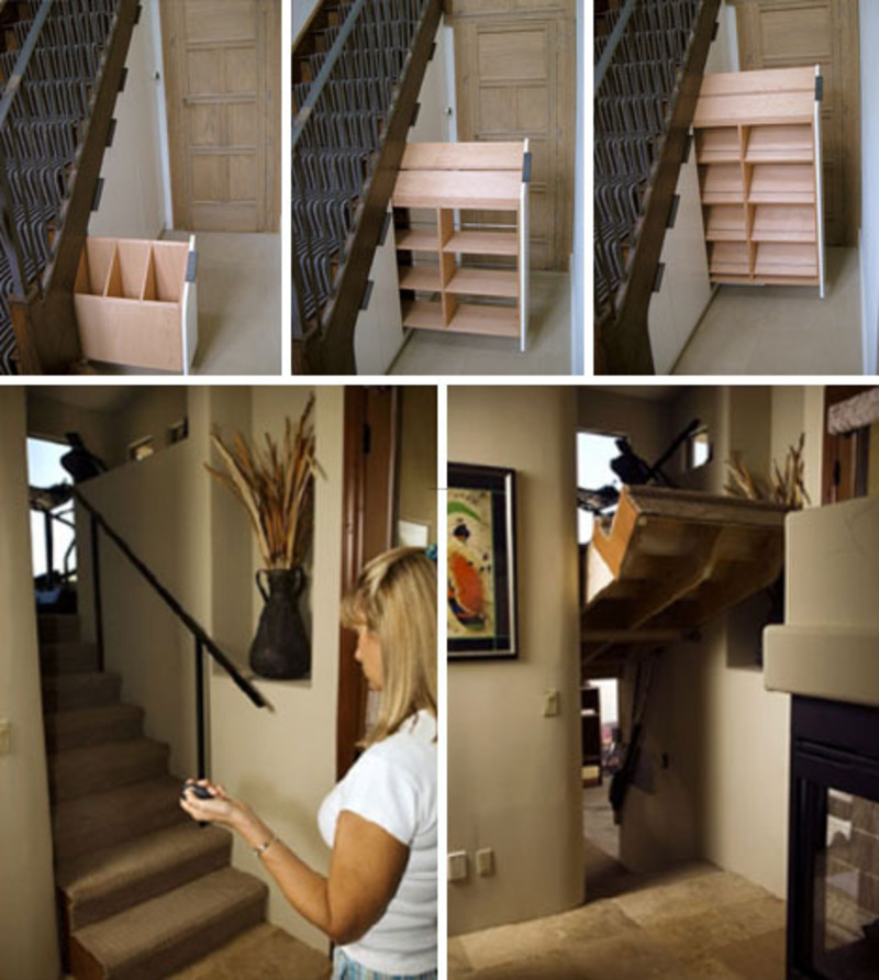 60 Under Stairs Storage Ideas For Small Spaces Making Your: 10 Clever Under / Design Bookmark #2478