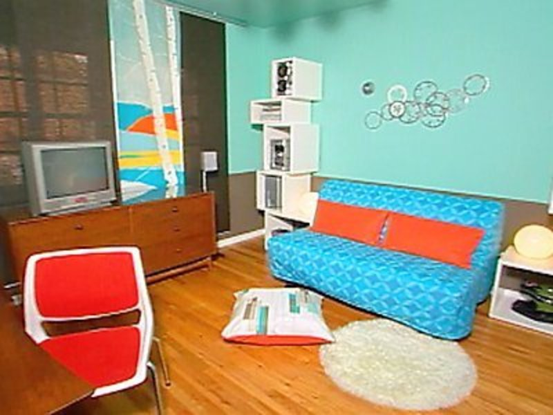 Interior design creating a retro bedroom design - Retro home design ...