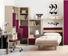 Red theme teenagers bedroom form Tumidei spa