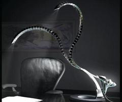 The Ra Desk Lamp by Ettore Cimini