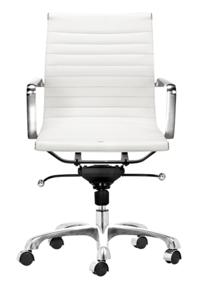 Modern office chairs design bookmark 2611 for Modern white office chair