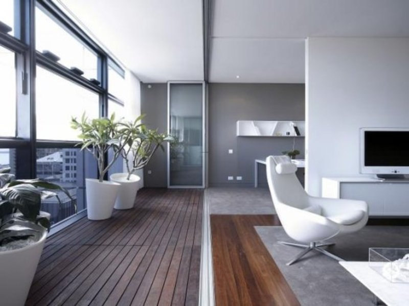 White luxury apartment interior in sydney australia for Apartment design sydney
