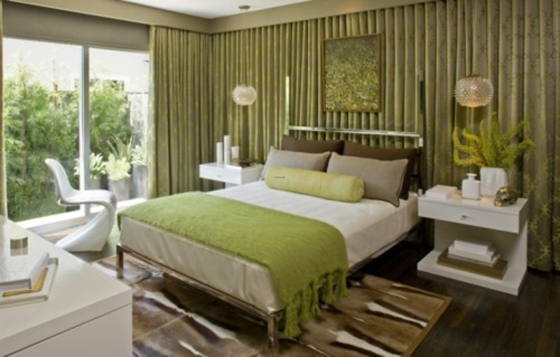 Green Bedroom Ideas Photos With Elegant Modern Platform Bed Set Design Book
