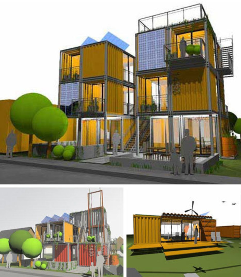 10 More Awesome Architectural Shipping Container Designs From Loft Spaces