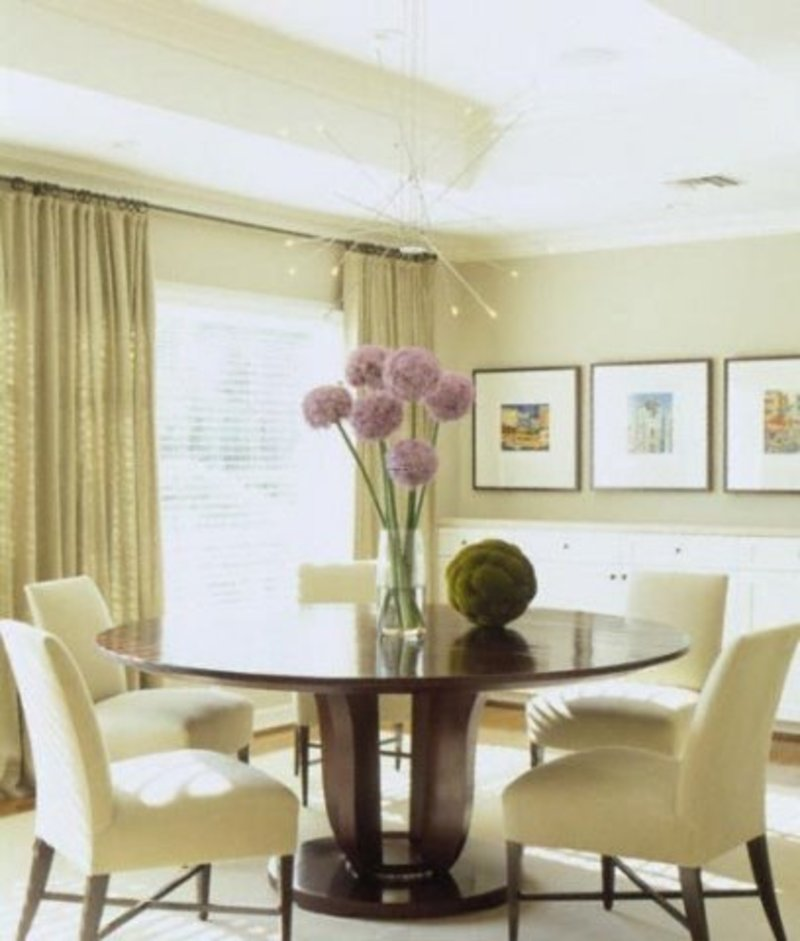 Dining room decoration tips decoration ideas design for Images of decorated dining rooms