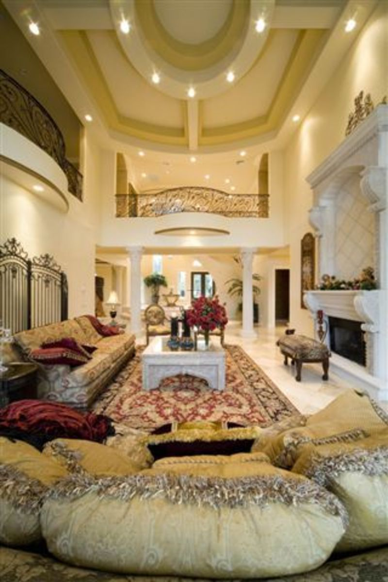 luxury mansions interior images
