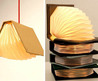 Unique Book Lamp Design by Myung