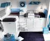 Colorful Teen Bedroom Design by Tumidei
