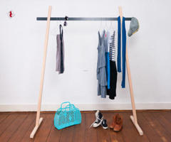 Mr. T by Kieser Spath Industrial Design Is a Coat Rack Not Afraid of Small Spaces
