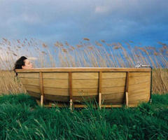 Limited Edition BathBoat by Wieki Somers Holds Water Within