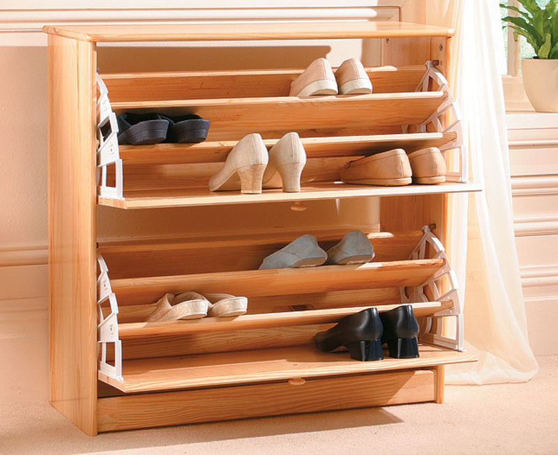 shoe storage furniture plans