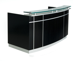 Reception desk for modern office design