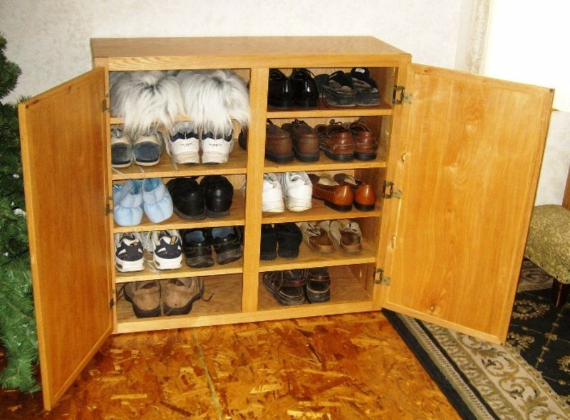 Shoe Rack Plans | Woodworker Magazine