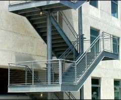 Stainless Steel Cable Railing, Top Hat Cable System