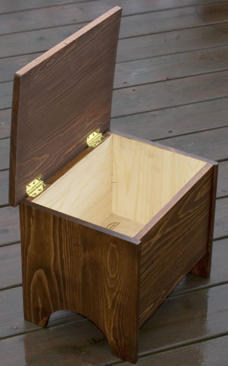 The Runner Duck Storage Stool Step By Step Instructions