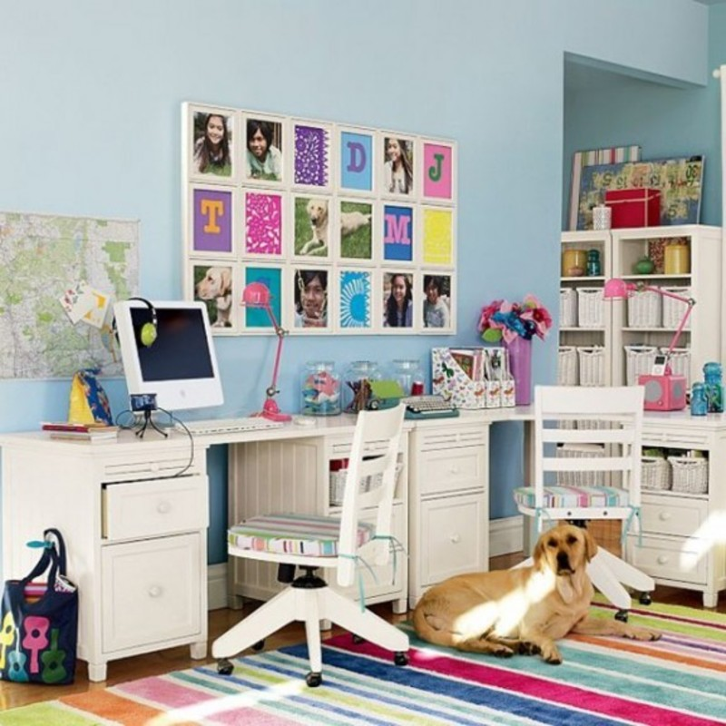 Kids Study Room Design Ideas 800 x 800