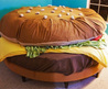 Creative Hamburger Shaped Bed For Kids Bedroom Decor