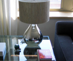 Calypso Mercury Glass Lamp
