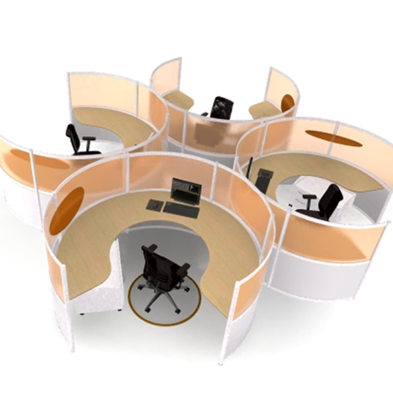 Modular Office Furniture For Office Custom Interior Design Concept
