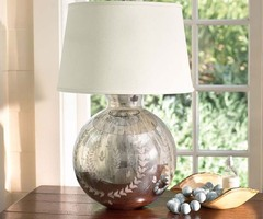 Lighting Design – Hanna Etched Mercury Table Lamp