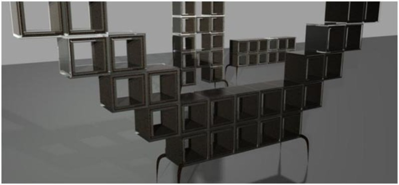 Lego Me : Modular Shelves System By Christopher William