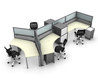 Modular office furniture of