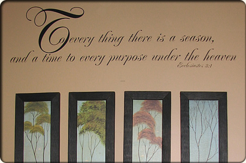 Vinyl lettering on walls for vinyl home decor and accents for Wall paintings for office