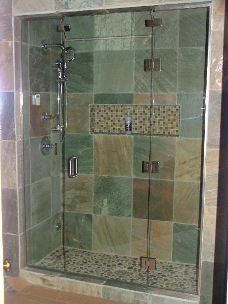 Glass shower doors frameless design bookmark 2937 Bathroom glass doors design