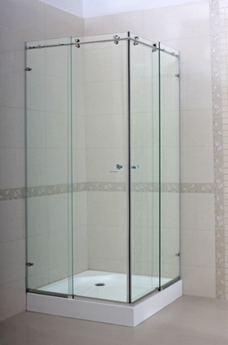 Frameless Sliding Shower Door Cg Design Bookmark 2945