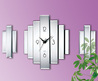 MIRROR WALL CLOCK SET at Taylor Gifts