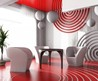 modern office furniture: Luxury Wall Decor Idea