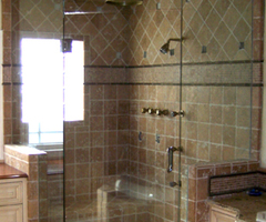Blizzard Frameless Shower Doors