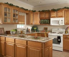 Oak Kitchen Cabinets for Modern Kitchen Interior Design