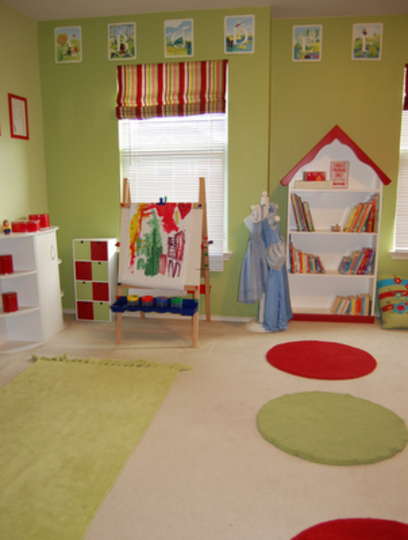 kids playroom decoration ideas with small furniture design