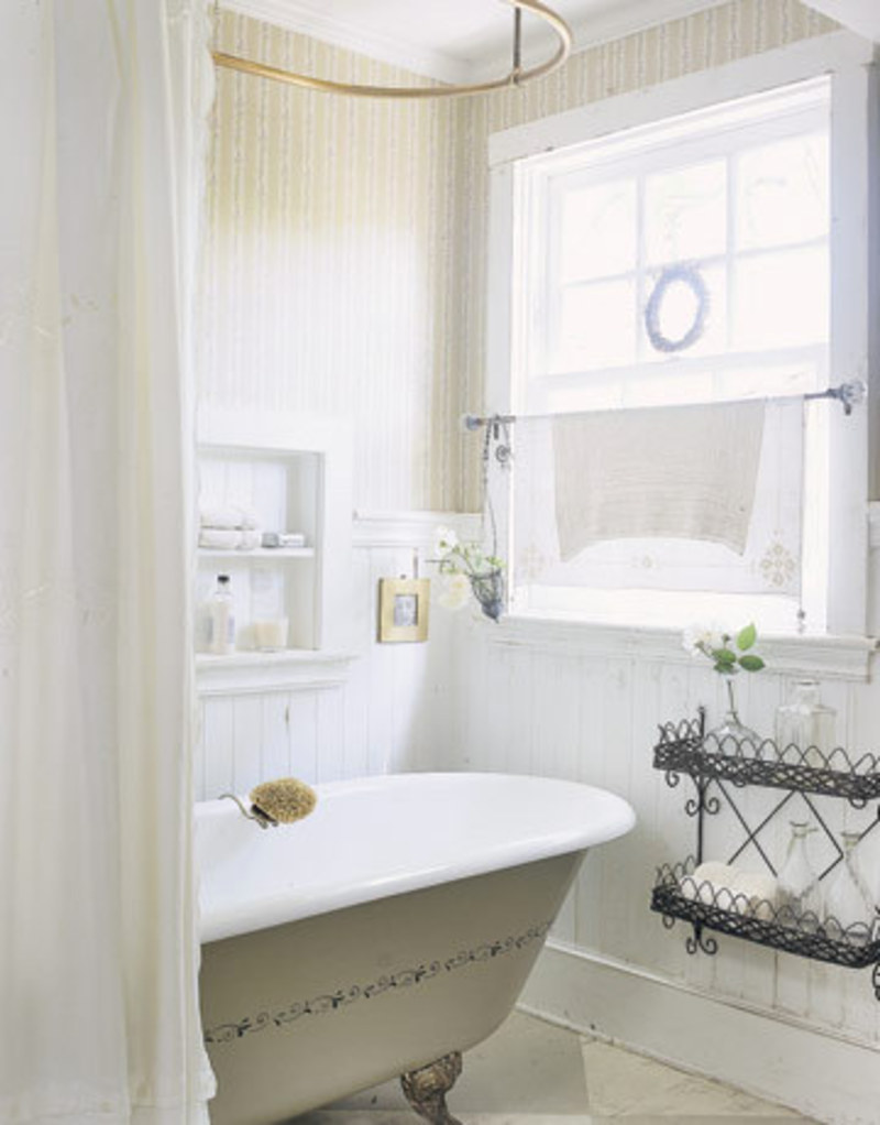 bathroom window treatments ideas