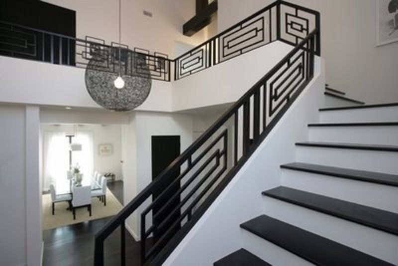 Contemporary Stair Railing, Contemporary Stair Railing Design
