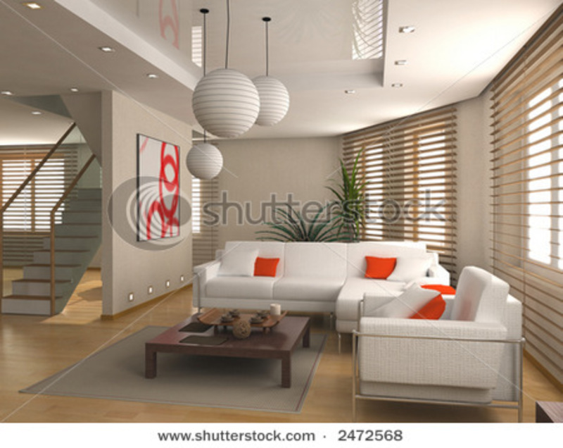 Modern Interior Design, Modern Interior Design (Computer Generated Image 3d) Stock Photo 2472568 : Shutterstock
