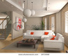 Modern Interior Design (Computer Generated Image 3d) Stock Photo 2472568 : Shutterstock