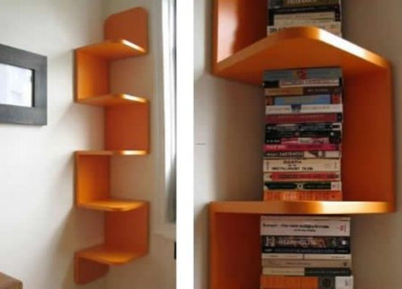 Modern Interior Design, Modern interior design – shelf