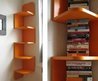 Modern interior design – shelf