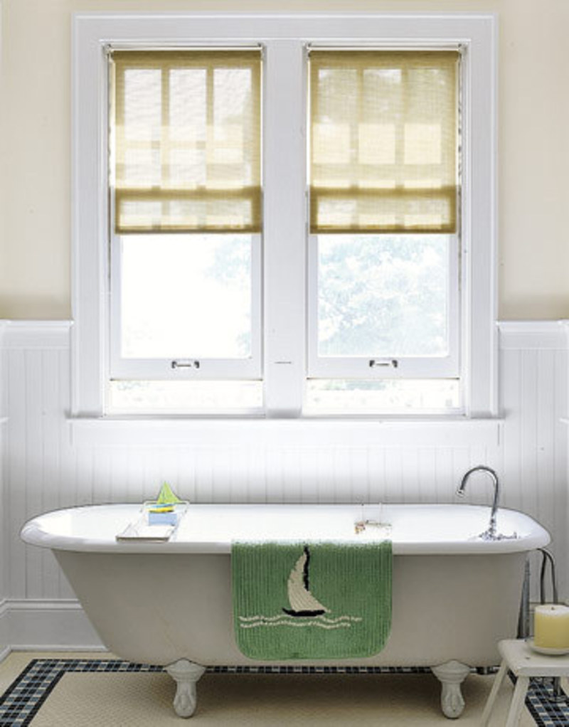 Bathroom window treatments design ideas design bookmark 3166 Bathroom designs with window in shower