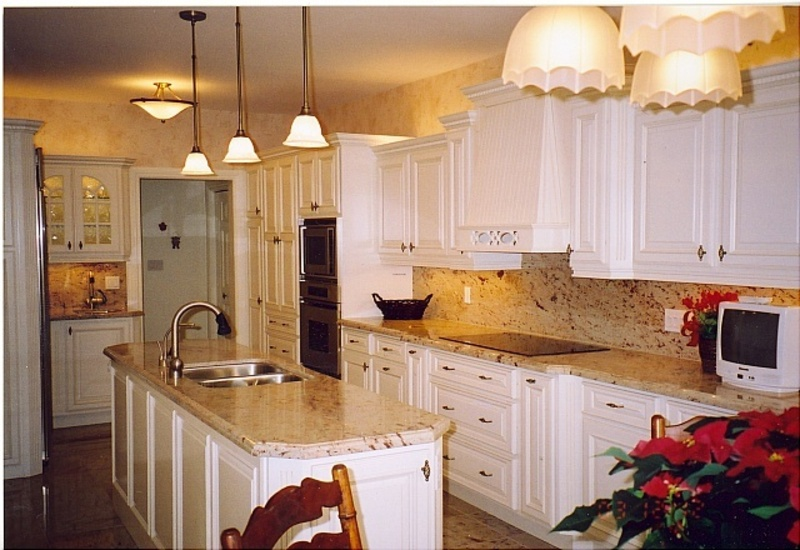 Countertops Kitchen White Kitchen Cabinets And Granite Countertops