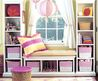 Storkin.com: Pottery Barn Kids Shelves and Storage Bench